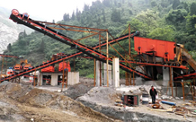 Stone crushing production lines